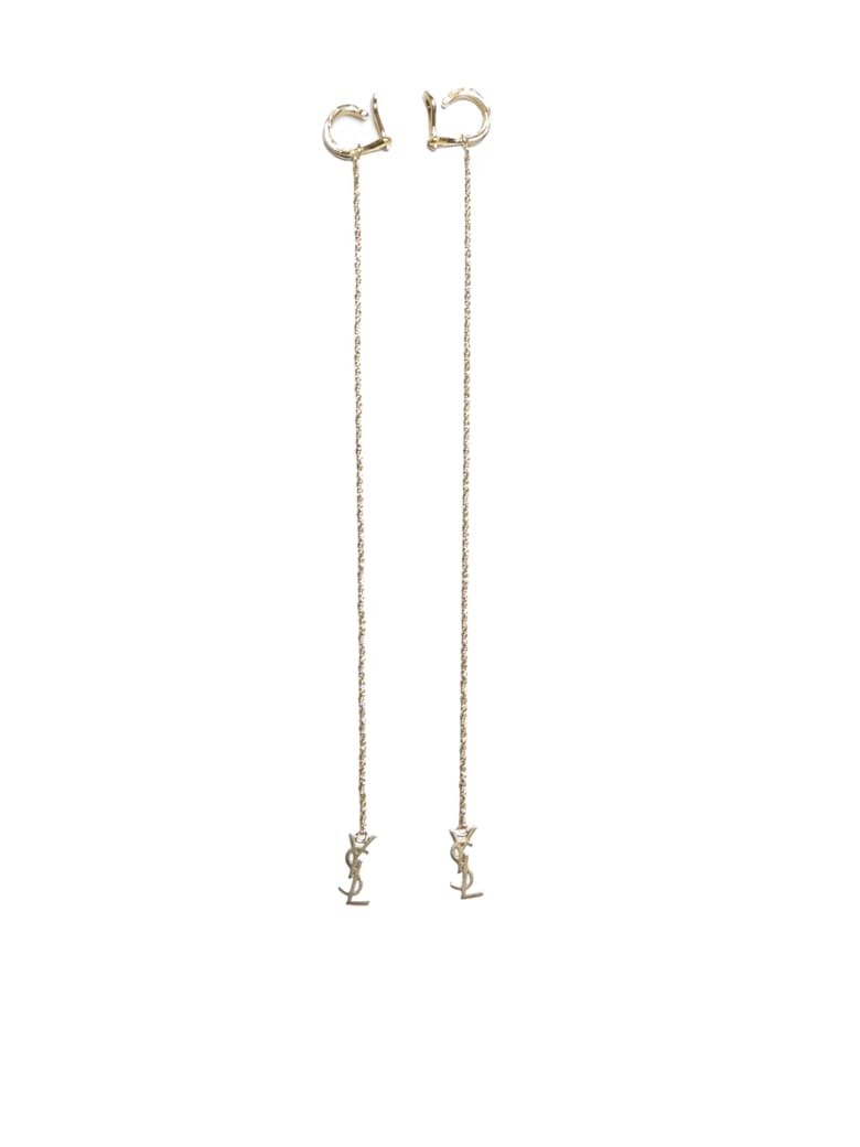 Saint Laurent Earring - Or laiton