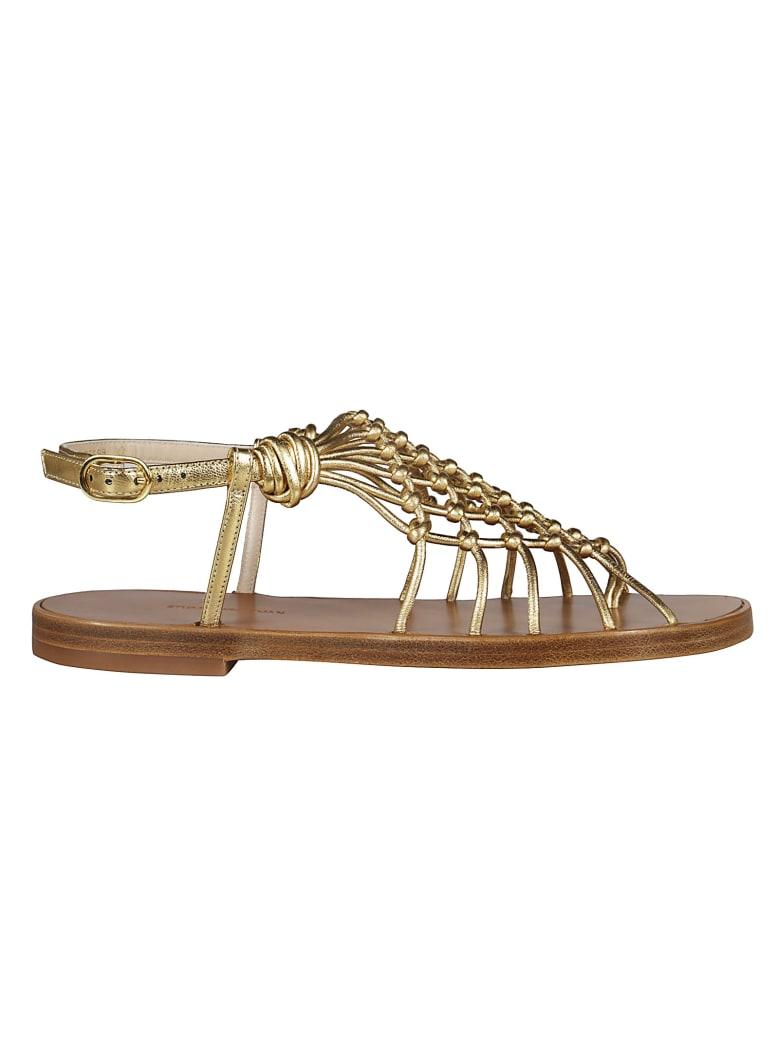 Stuart Weitzman Seaside Sandals - gold