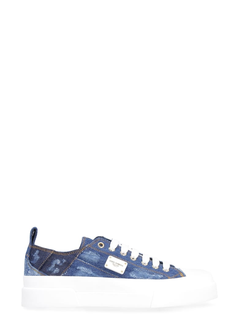 Dolce & Gabbana Denim Low-top Sneakers - Denim