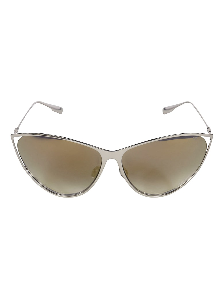 Christian Dior Cat Eye Sunglasses DiorNewMotard - Silver