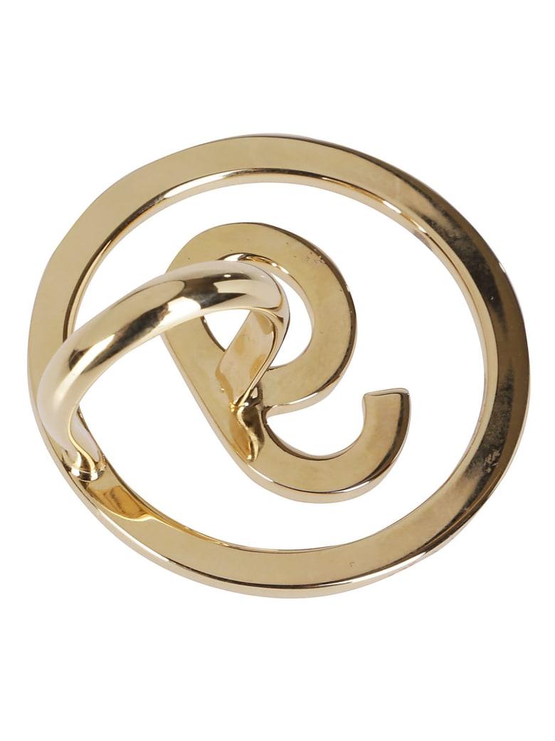 MM6 Maison Margiela Gold Brass Ring - Gold