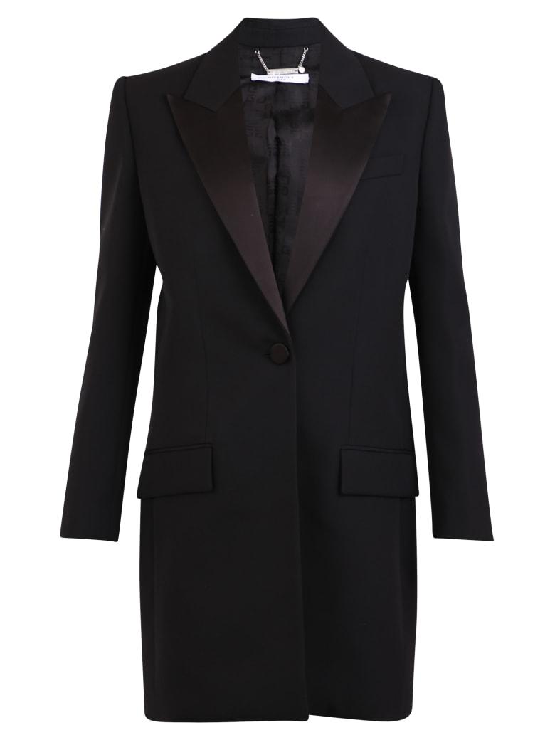 Givenchy Single-breated Coat - Black