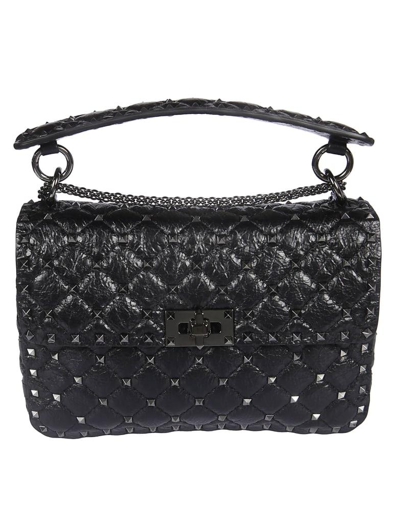 Valentino Studded Shoulder Bag - No Nero