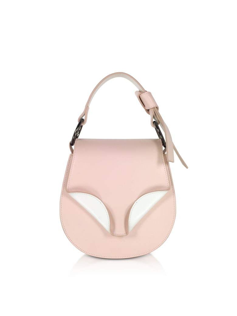Giaquinto Leather Daphne Mini Shoulder Bag - Pale Peach