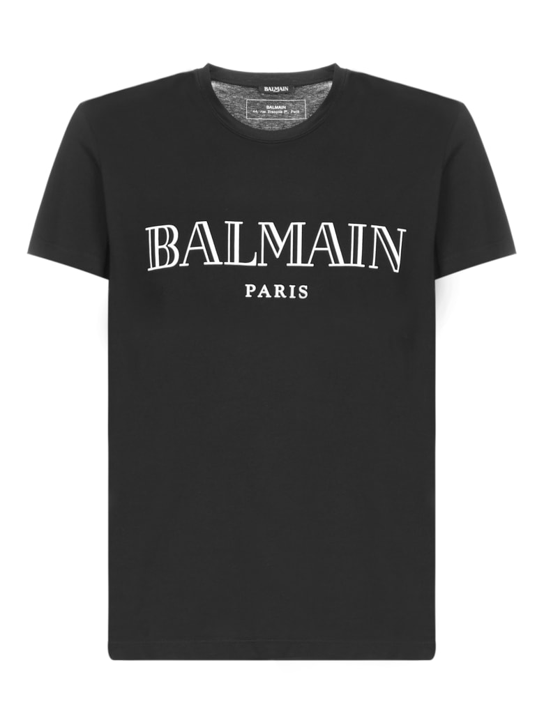 Balmain Short Sleeve T-Shirt - Noir