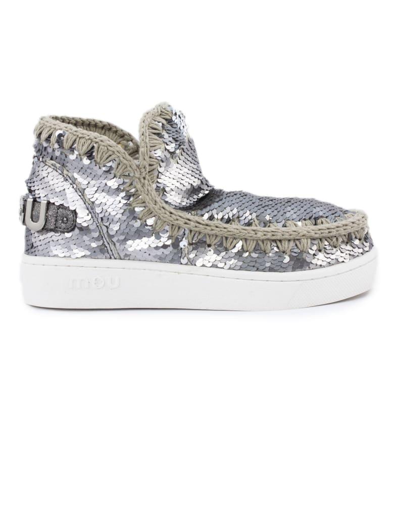 Mou Summer Eskimo Sneaker - Acciaio