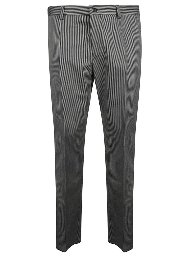 Dolce & Gabbana Pinstriped Trousers - Grey