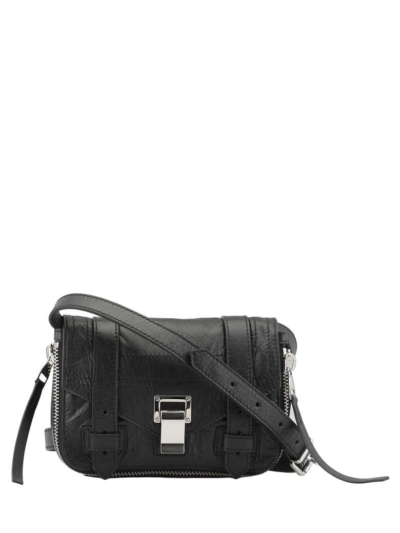 Proenza Schouler Ps1 Plus Mini Crossbody Bag - BLACK