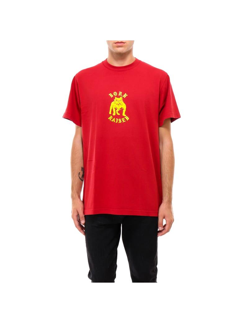 BornxRaised T-shirt - Red
