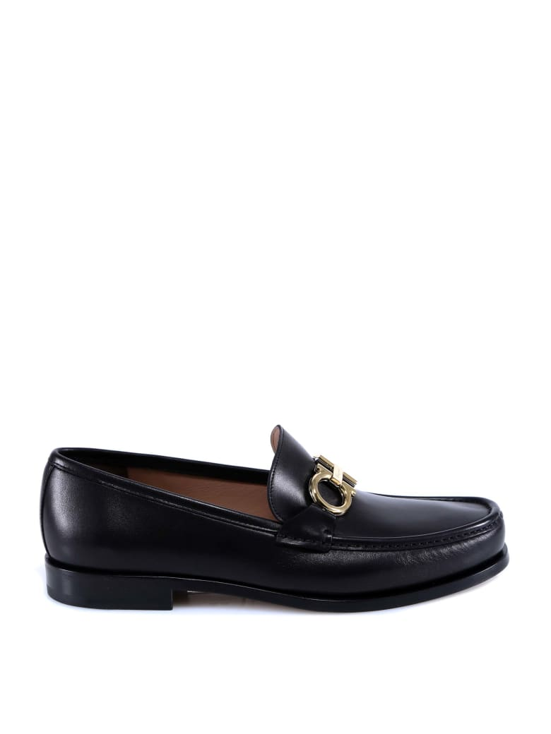Salvatore Ferragamo Rolo Loafer - Black