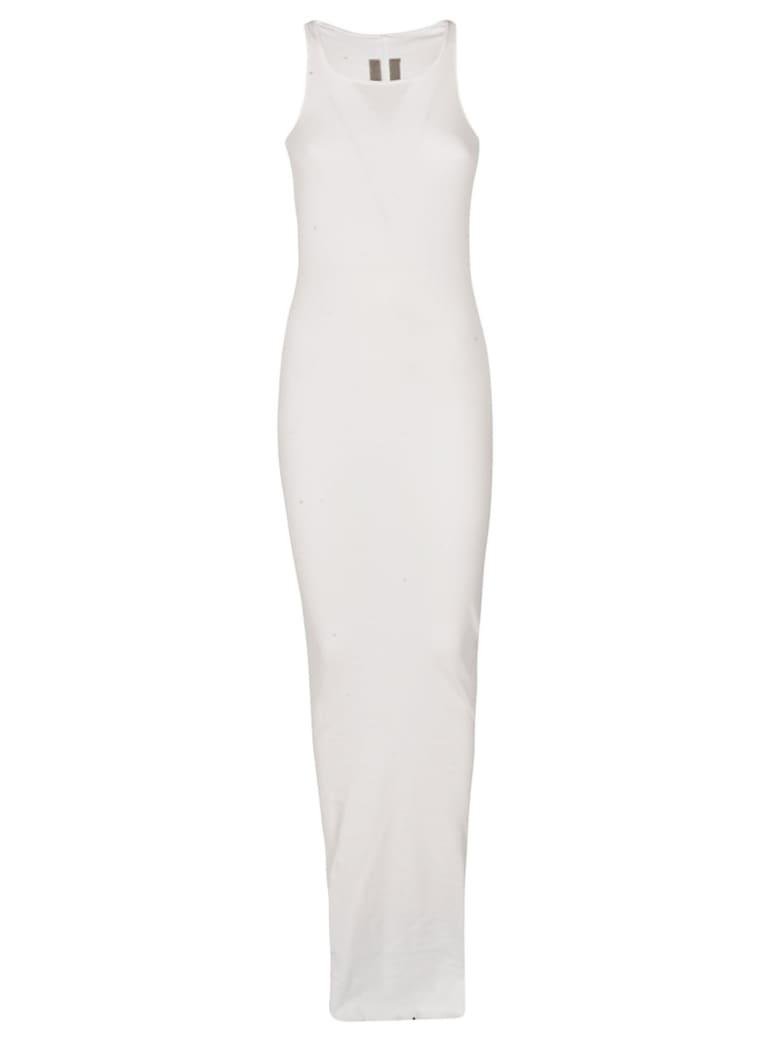 DRKSHDW Long Fitted Dress - White