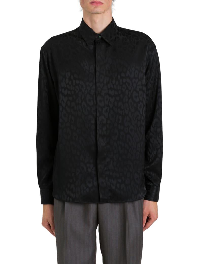 Dior Homme Jacquard Léopard Shirt - Nero