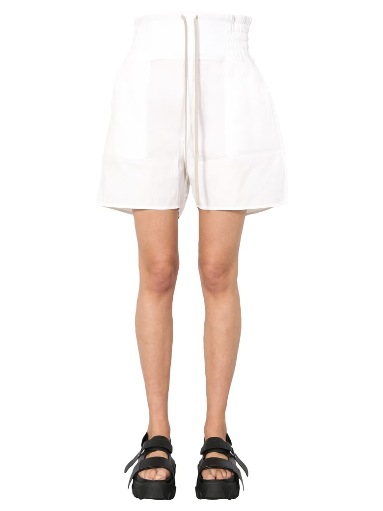 DRKSHDW Bermuda With Coulisse - BIANCO
