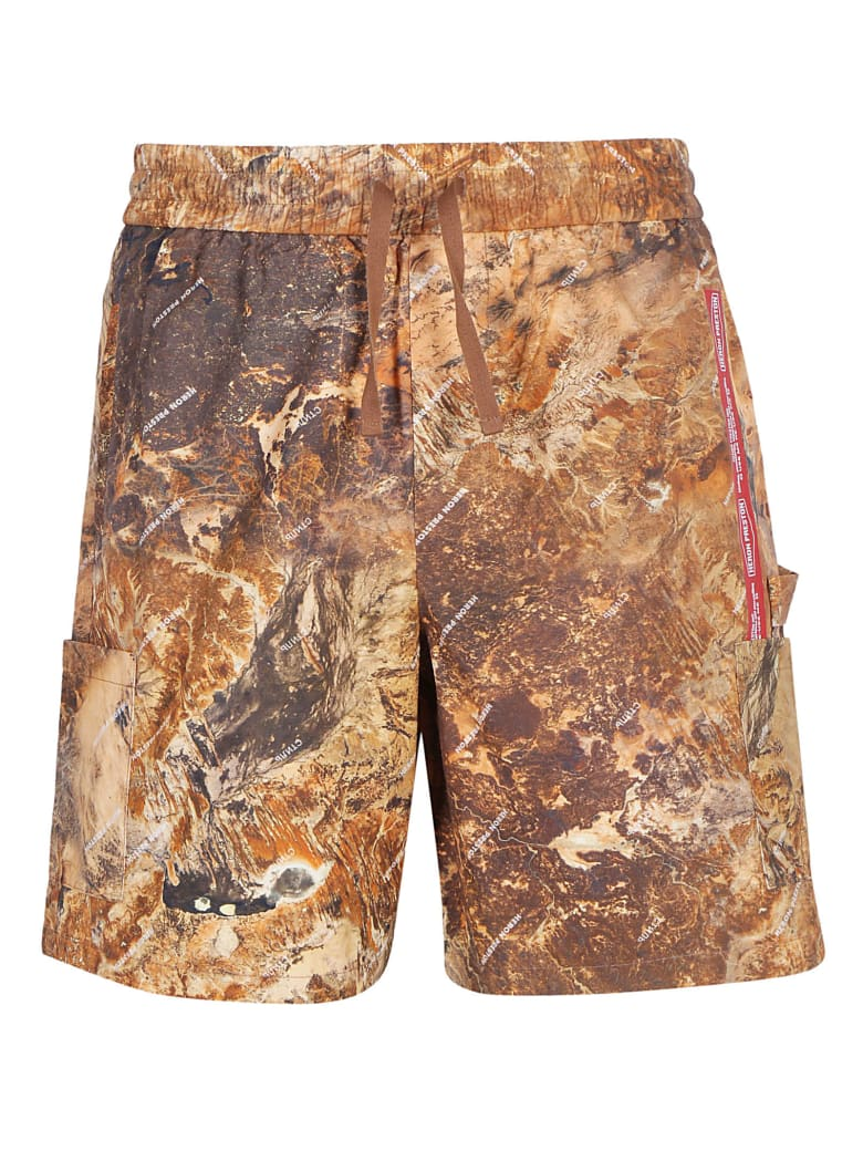 HERON PRESTON Cargo Shorts - Multicolor