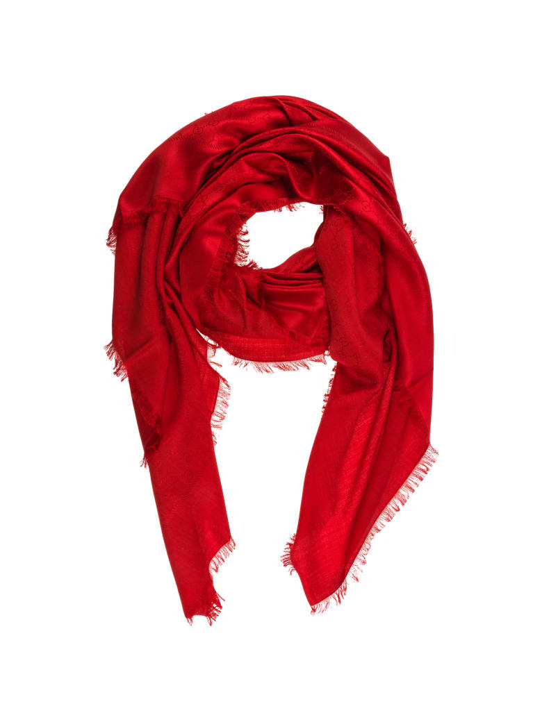 Gucci Antaria Scarf - Red