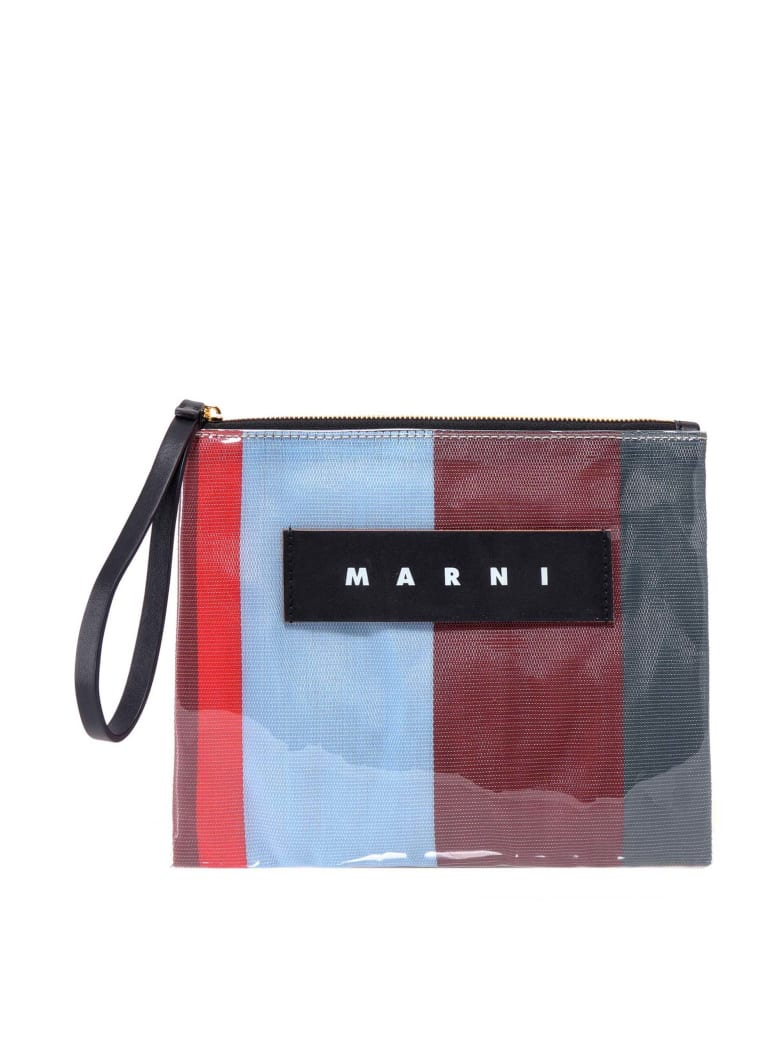 Marni Clutch - Green