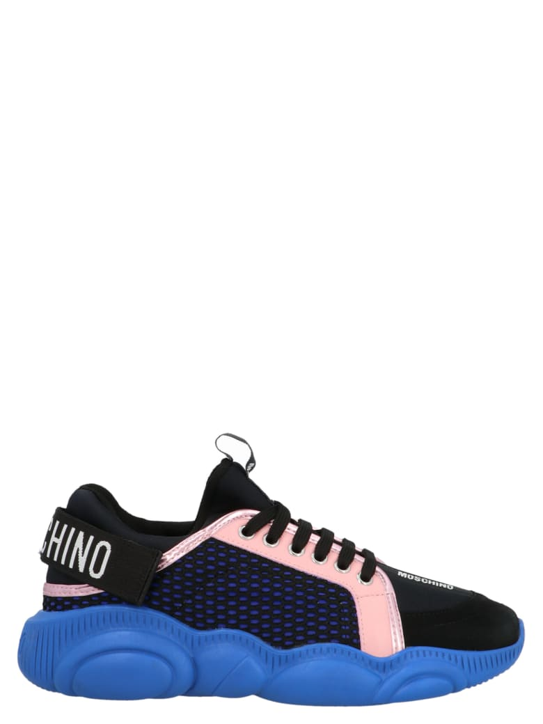 Moschino Shoes - Nero+rosA