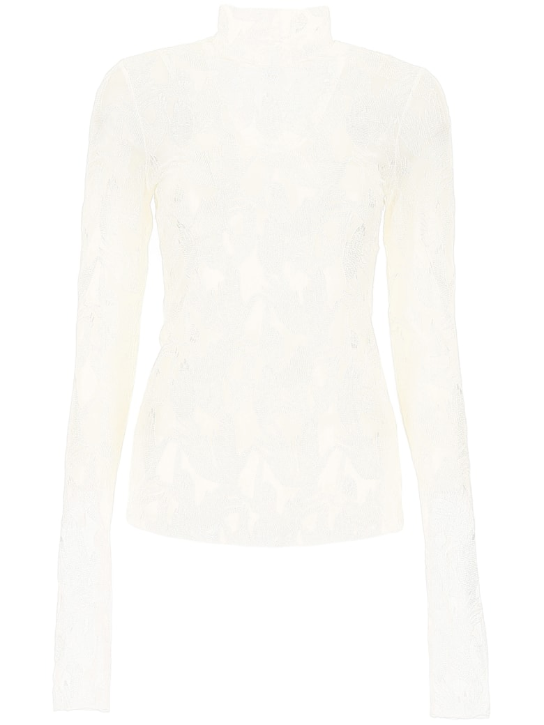 Vivetta All-over Hands Top - WHITE (White)