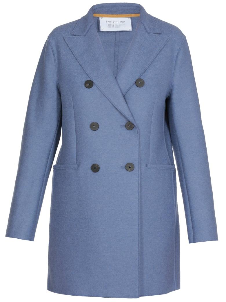 Harris Wharf London Wool Coat - POWD BLUE