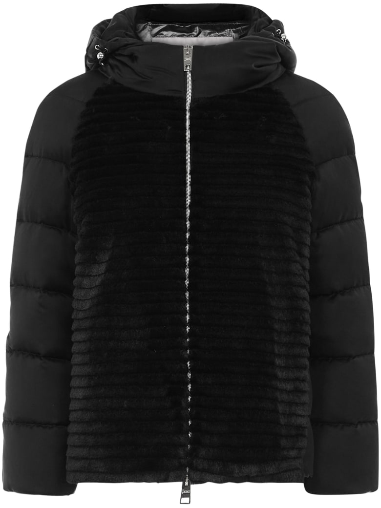 Herno Down Jacket - Black