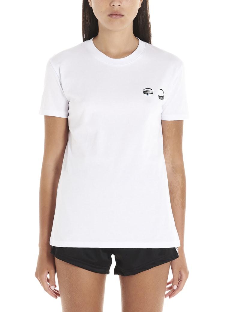 Chiara Ferragni 'flirting Eyes' T-shirt - White