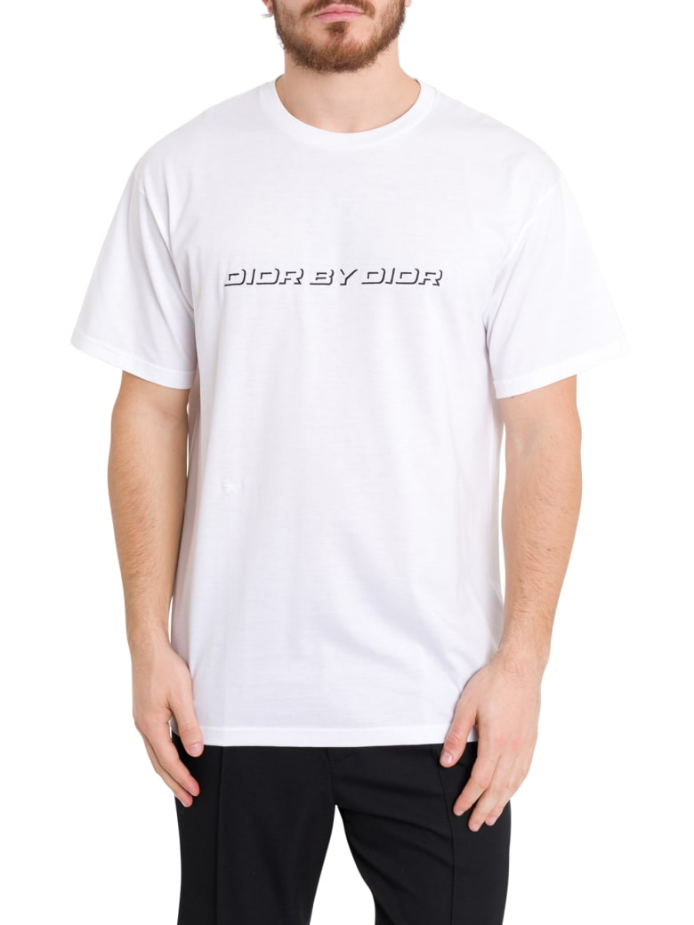 Dior Homme Dior By Dior Tee - Bianco