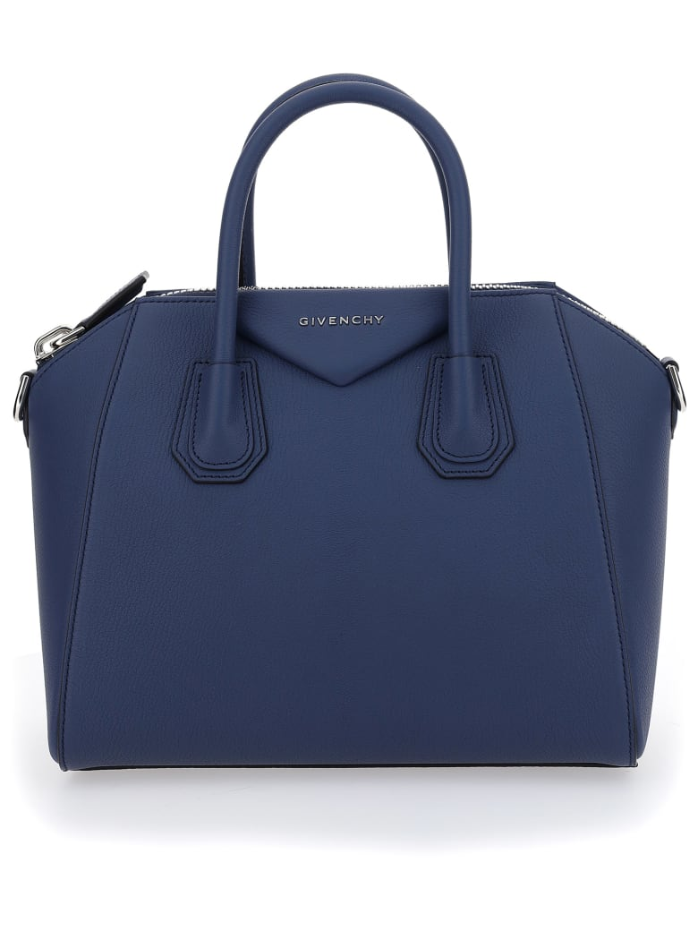 Givenchy Antigona Small Tote Bag - Blu scuro