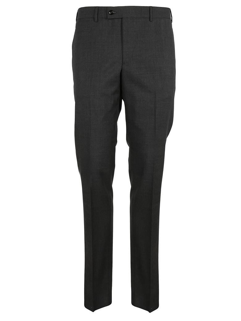 Massimo Piombo Slim Fit Pants - Mid Grey