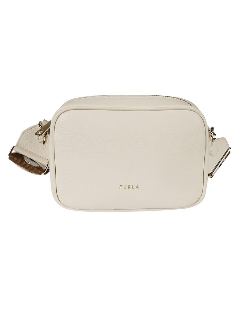 Furla Top Zip Camera Bag - Panna