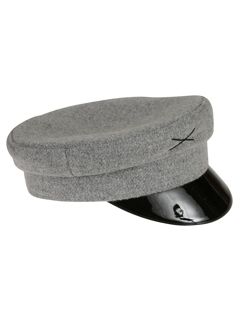 Ruslan Baginskiy Embroidered Hat - Grey