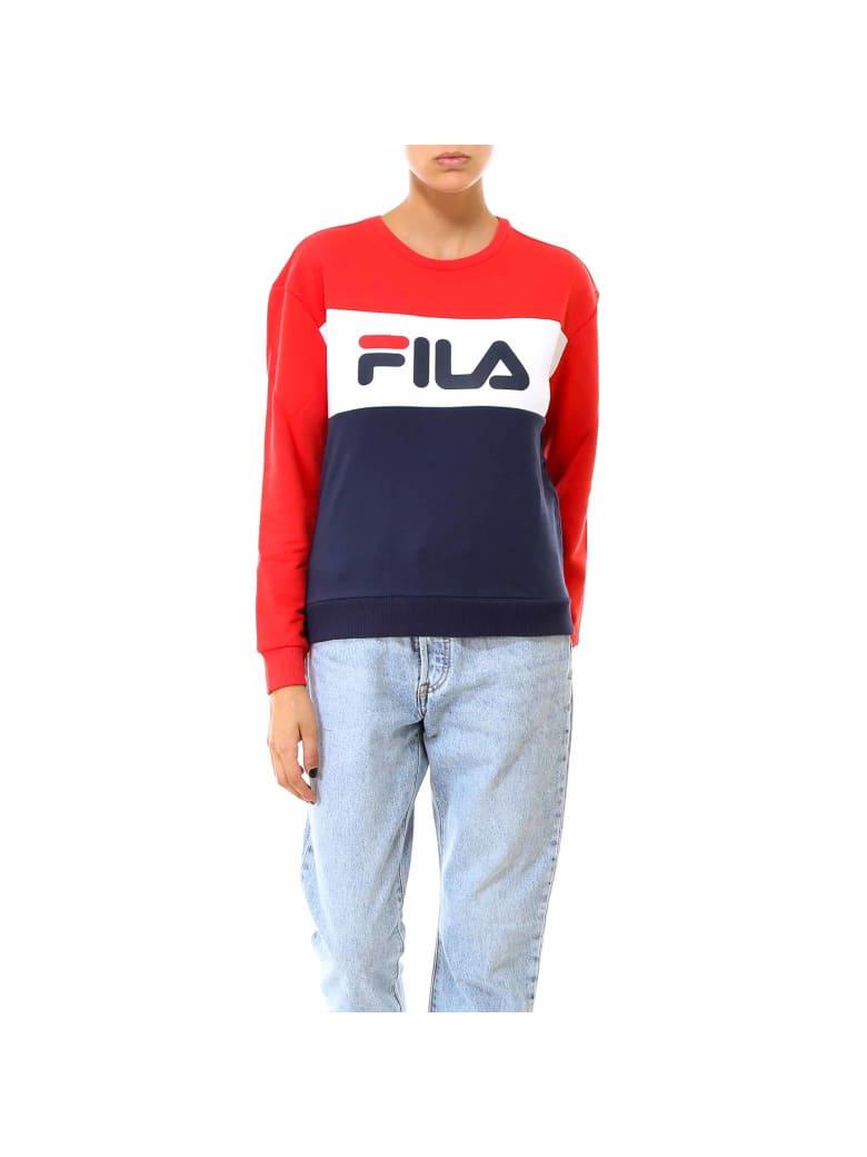 Fila Leah Crew Sweat Sweatshirt - Blue