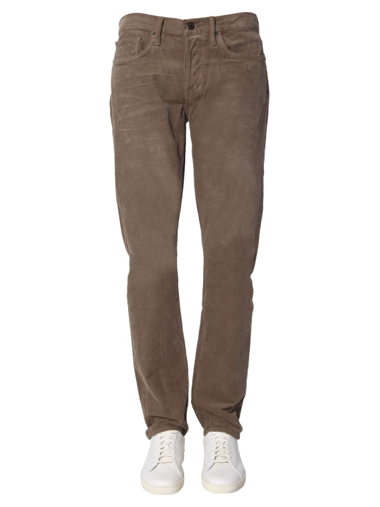 Tom Ford Corduroy Trousers - MARRONE