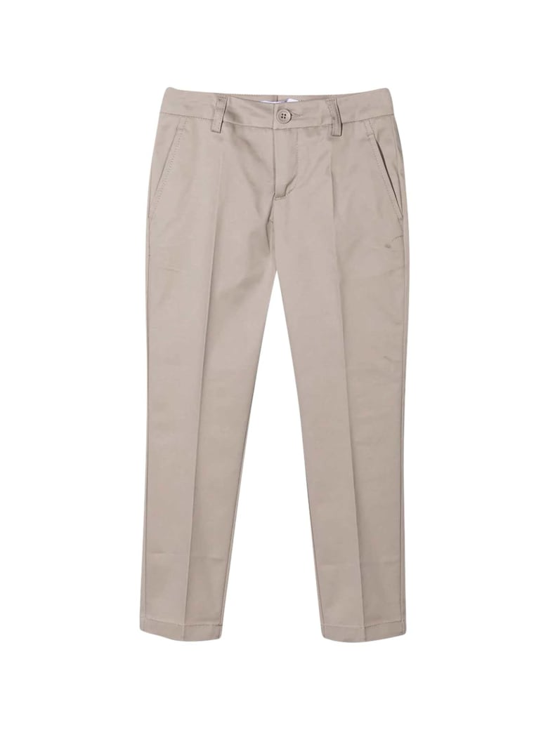 Dondup Beige Chino Trousers - Unica