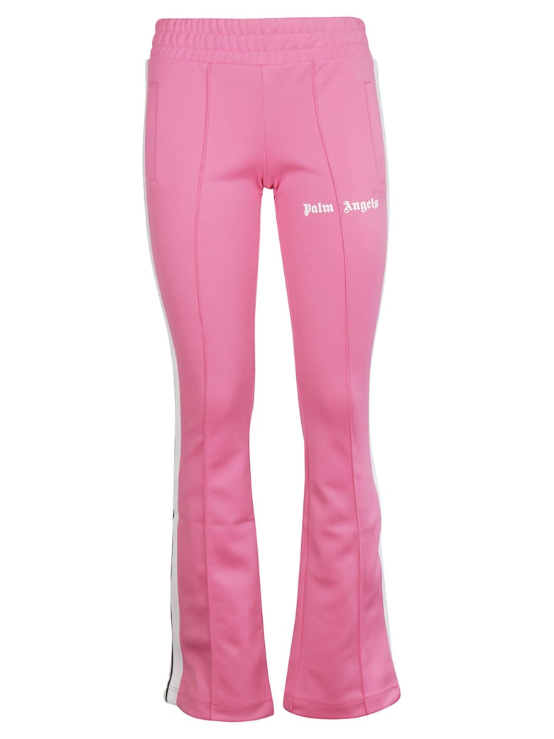 Palm Angels Jersey Track Pants - Fuxia White