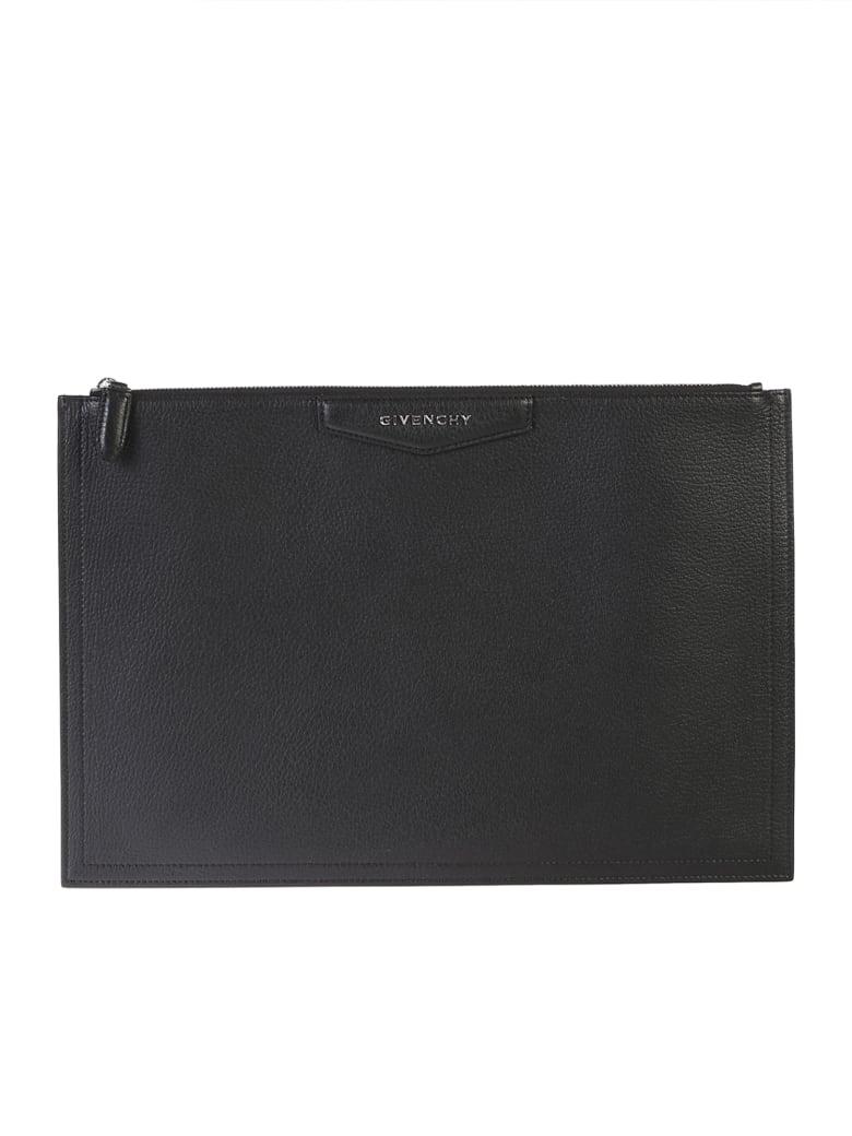 Givenchy Black Large Antigona Clutch - Black