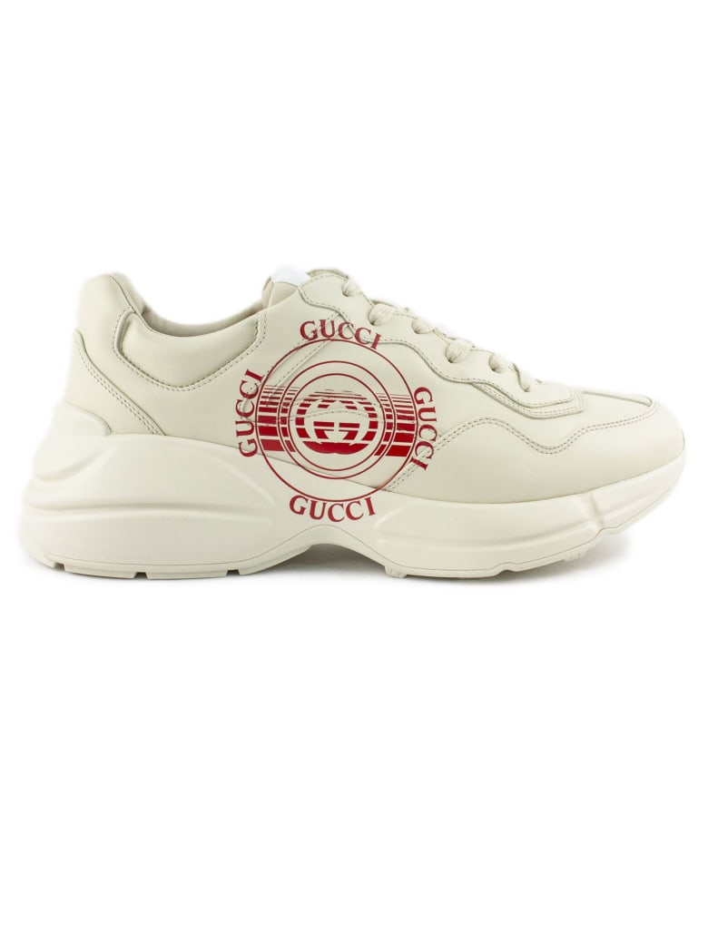 Gucci Ivory Rhyton Sneaker - Panna