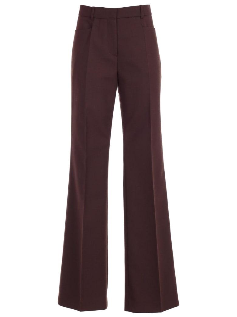 Joseph Pants Skinny Wool Polyester - Mahogany