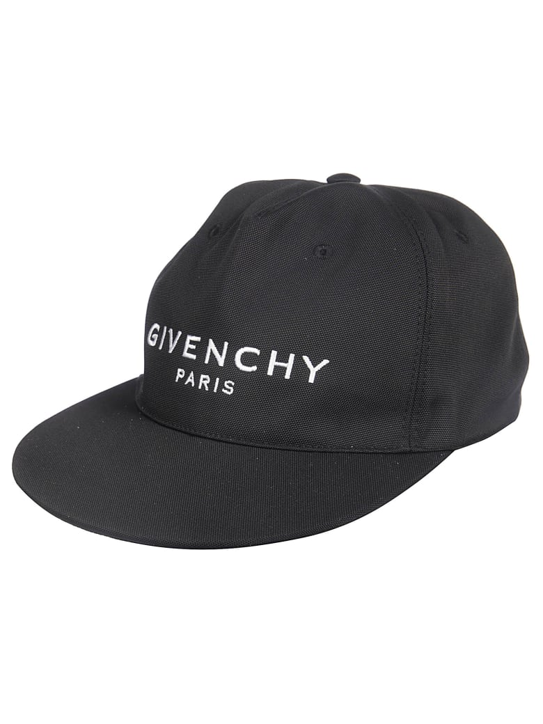 Givenchy Embroidered Baseball Cap - Black
