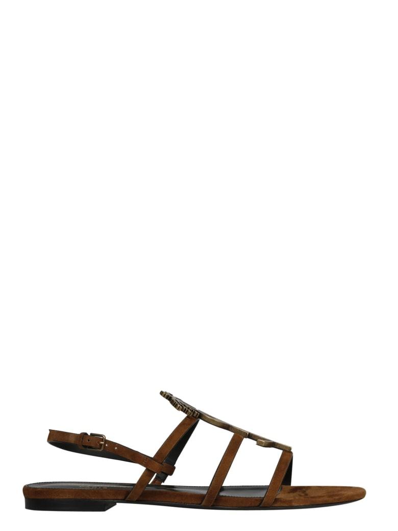 Saint Laurent Shoes - Brown