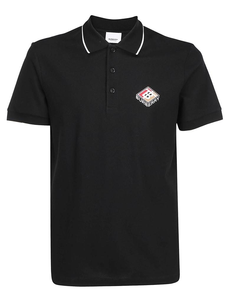 Burberry Aiden Polo T-shirt - Black
