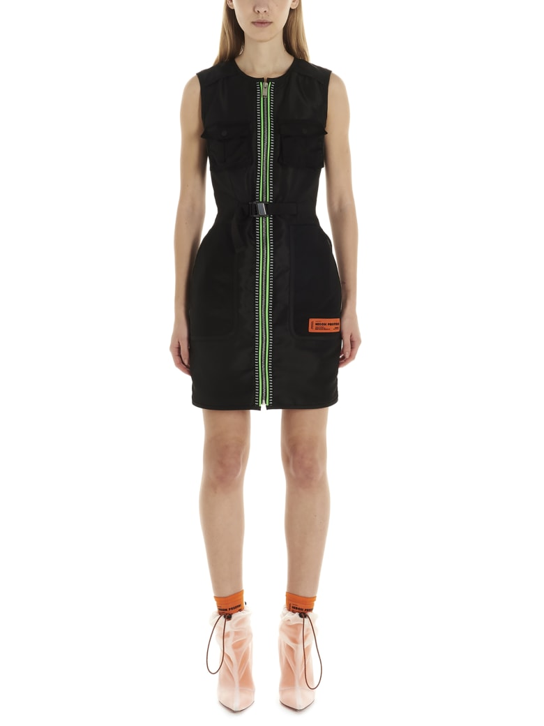 HERON PRESTON Dress - Black