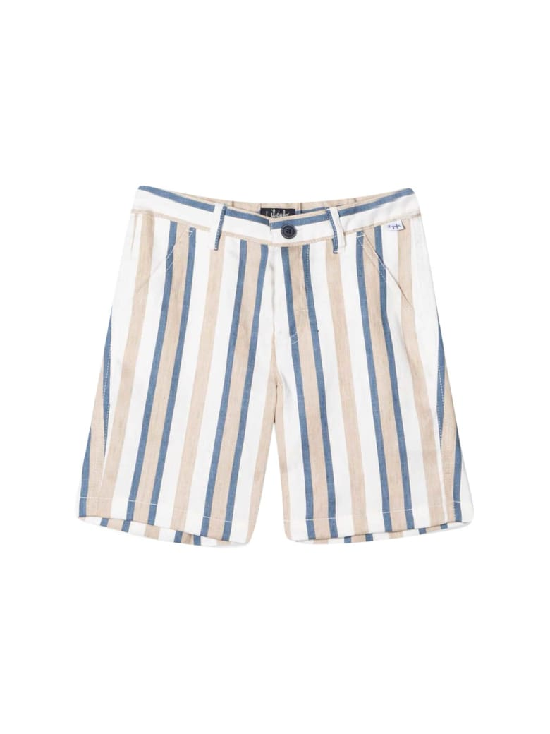 Il Gufo Striped Shorts - Cord. 9