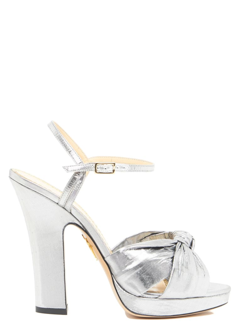 Charlotte Olympia Shoes - Silver