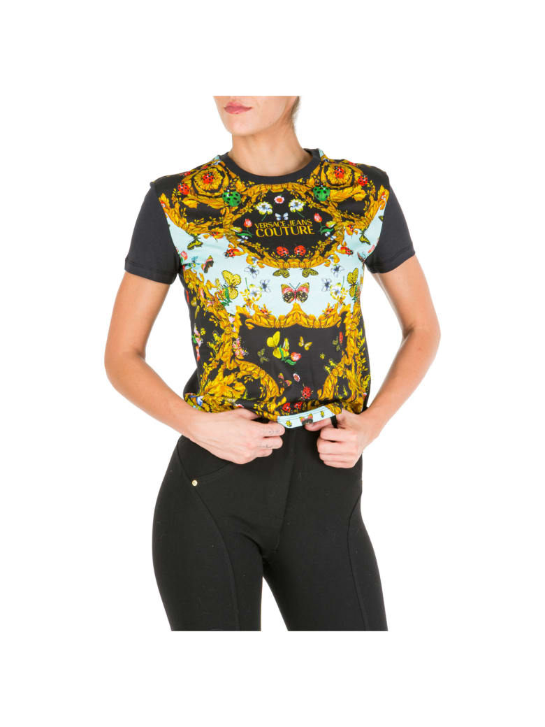 Versace Jeans Couture Ladybug Baroque T-shirt - Nero
