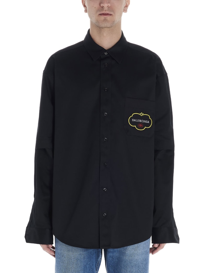 Balenciaga Overshirt - Black