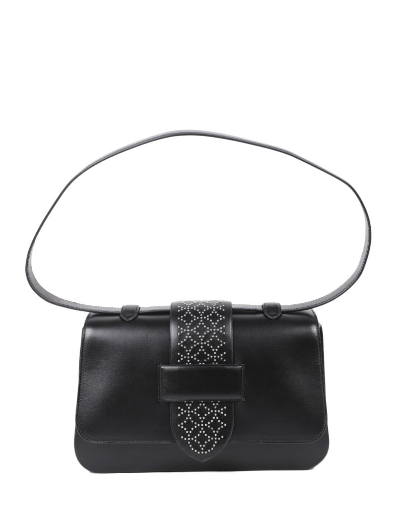 Alaia Black Arabesque Bag - Black