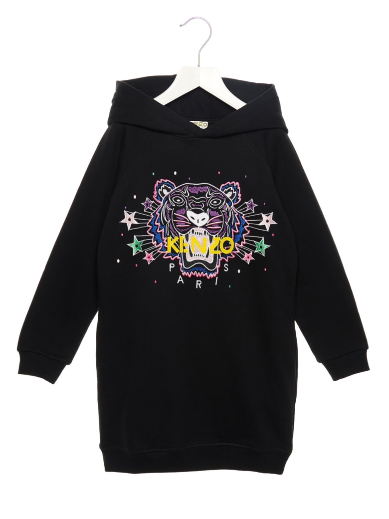 Kenzo Kids 'tiger Jg' Dress - Black