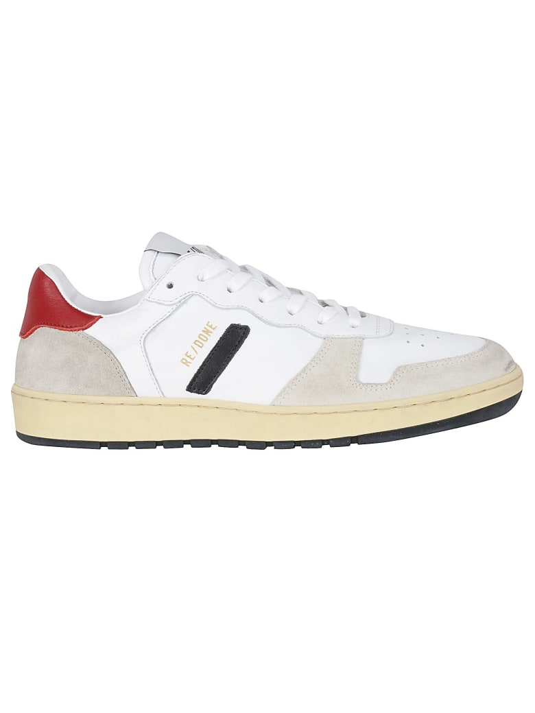 RE/DONE Sneakers - White & red