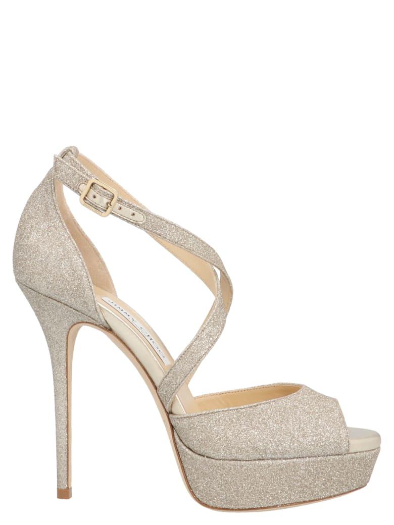 Jimmy Choo 'jenique' Shoes - Gold