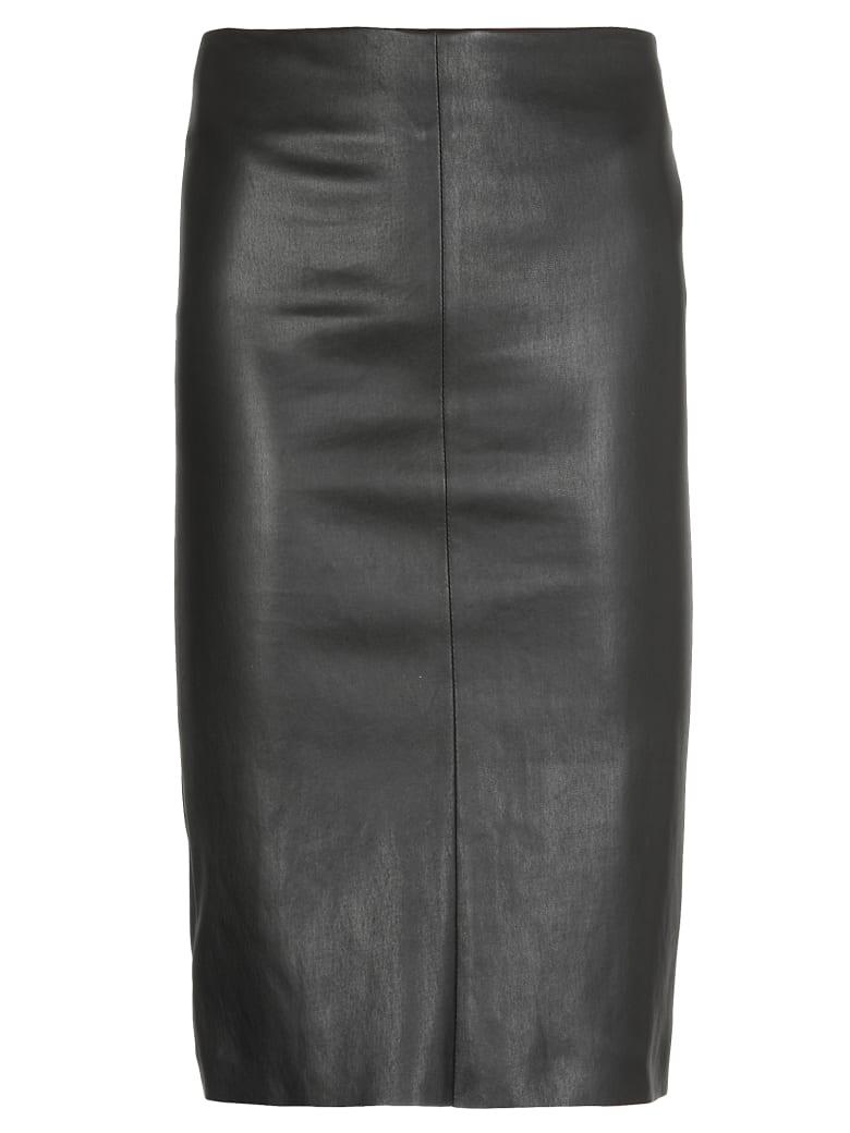 DROMe Leather Skirt - BLACK
